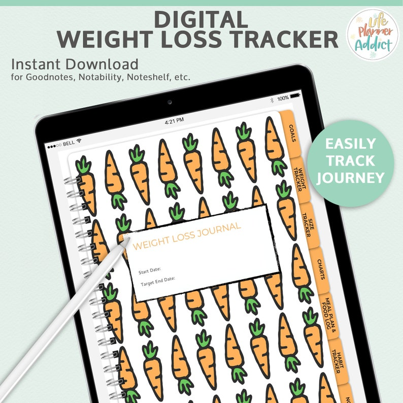 Weight Loss Tracker  includes: weight loss habit workout image 0