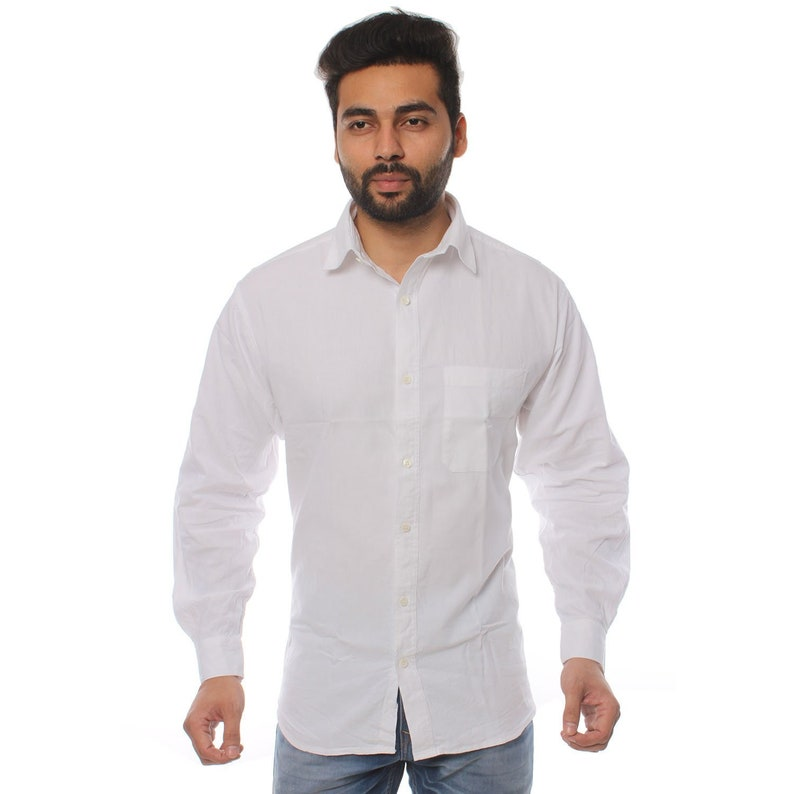 BeNaturalCo Organic Cotton Men/'s Winter Shirt