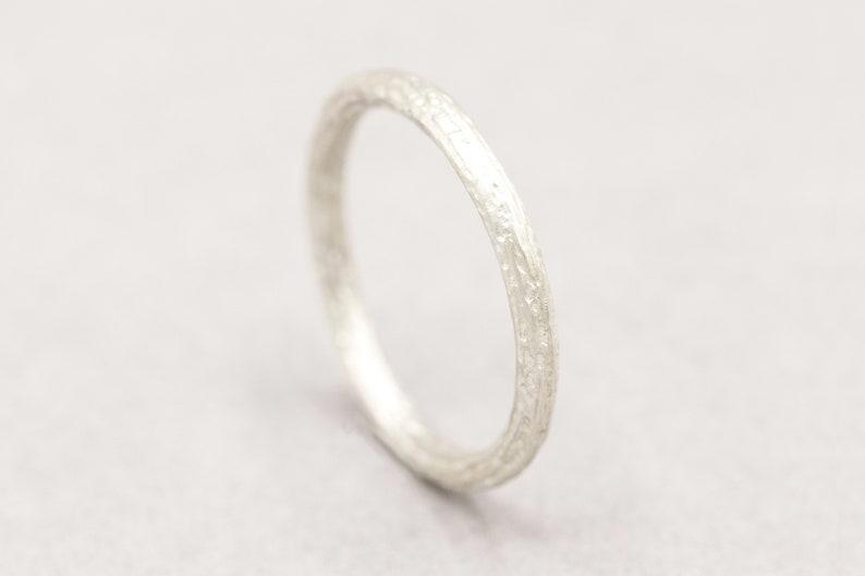 Handmade silver jewelry unique Sterling Silver Minimalist Silver ring women
