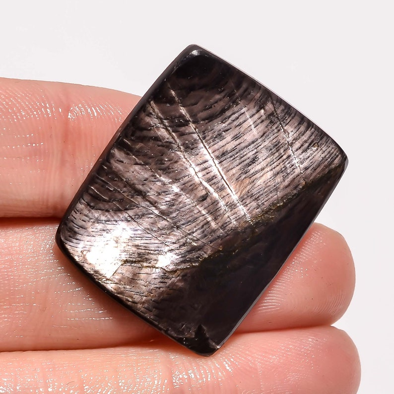34.00 Ct @ Natural Hypersthene Rectangle Shape Loose Gemstone,Stone For Solution And Energy For Making Jewelery Magical Stone !! BM- 1595
