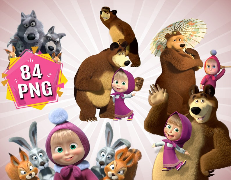 masha and the bear video download
