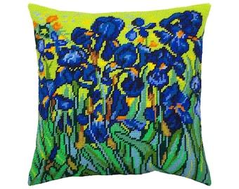 Sunflowers Needlepoint Pillow Kit Needlepoint Pillow Kit Candamar Designs Needlepoint Ki Sunflower Pillow Kit Needlepoint Pillow,Flowers