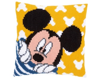 Disney Babies Cross Stitch Kit Donald Duck Toy Steamboat NEW Leisure Arts 113137 Nursery Decor