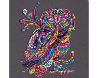 "Bead Embroidery DIY Kit /""Balance/"" 10.2/""х10.2/"""
