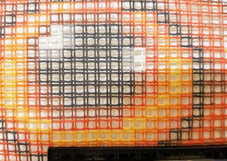 Embroidery kit Pillow size 16x16 Cross Stitch kit Needlepoint Kit Pillow Owl 40\u044540 cm Printed Canvas  Zweigart