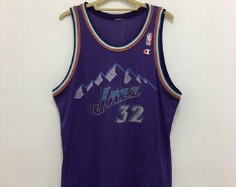 buy online 13937 65dc7 Nba utah jazz jersey | Etsy