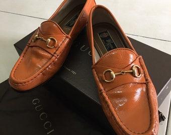 a5d1877aa8b Gucci Vintage Shoes Size 38 1 2