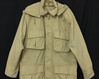 85a2627031f0 Vintage Nigel Cabourn Parka Jacket Size Large