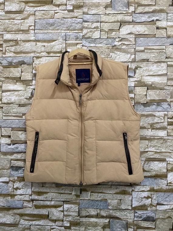 Vintage Moncler Down Vest Jacket