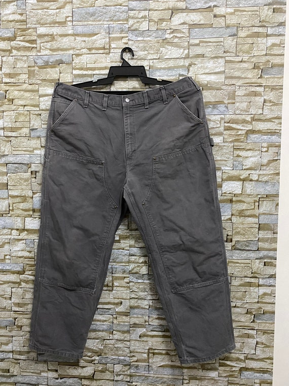 Vintage Carhartt Canvas Double Knee Work Trousers