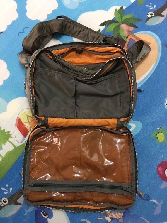 23ebce7e2c205 PORTER by Yoshida Shoulder Bag Made in Japan Nylon Force Olive drab  Messenger Bag