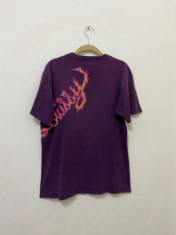 Vintage Stussy Shirt Dinosaur Dragon Streetwear T… - image 8
