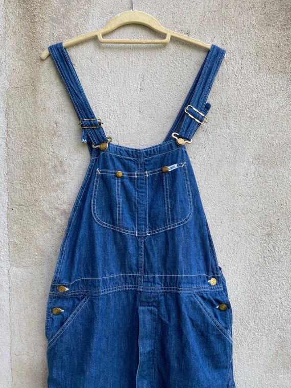 Vintage LEE Overalls Denim Workwear Made in USA Si