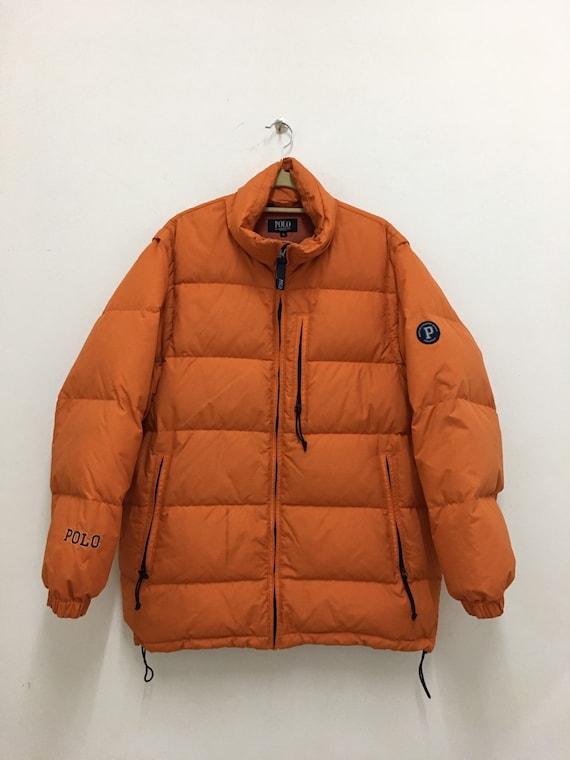 Polo Ralph Lauren Jagd Puffer Jacke Winter Wear Polo Ski Size groß