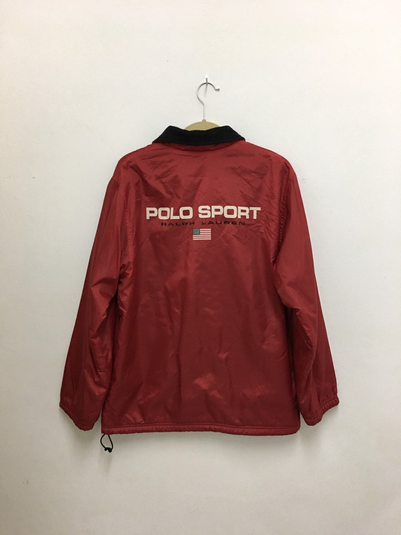 9789df4c Vintage Polo Sport Ralph Lauren Windbreaker Jacket