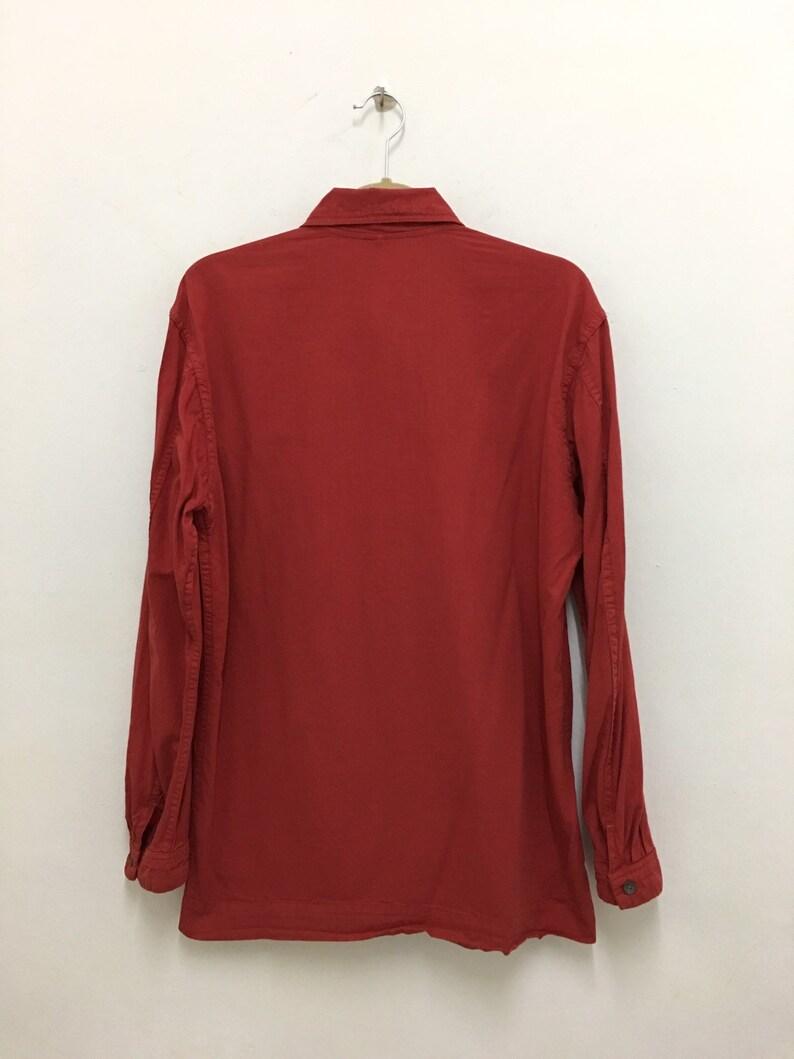 45rpm Western Shirt Japanese Shirt Size 2 Medium