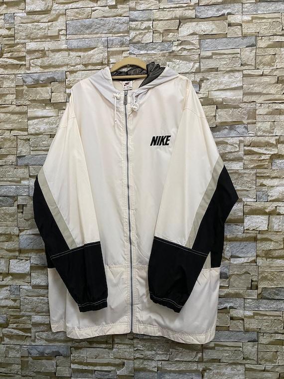 Vintage Nike Swoosh Windbreaker Jacket Size XL