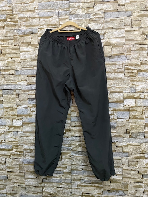 Vintage Supreme Nylon Track Pants Size Medium