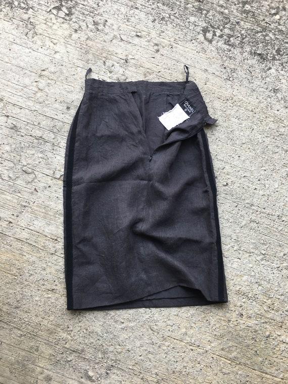 Vintage Chanel Boutique Pencil Skirt