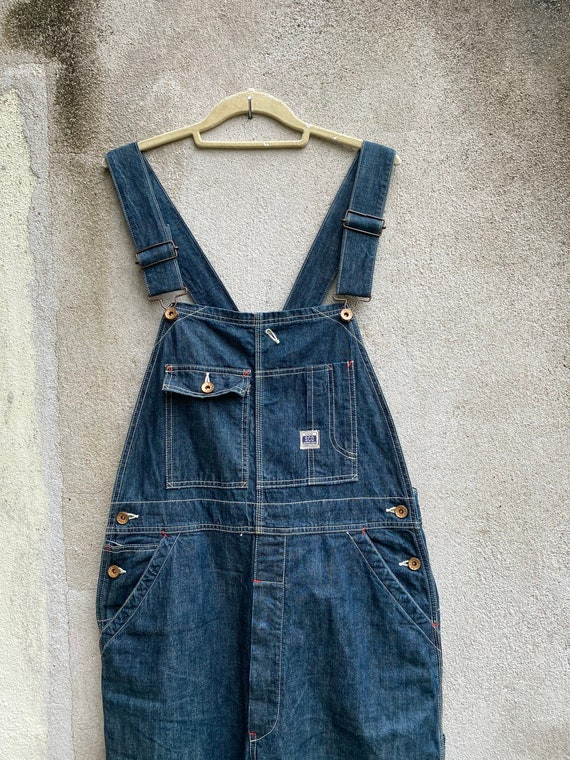 Johnbull Overall Jeans Workwear Denim Sewing Chop