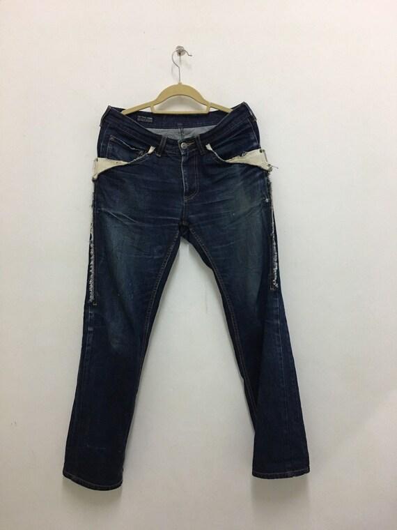 Issey Miyake Jeans FINAL HOME denim Pants Japanese