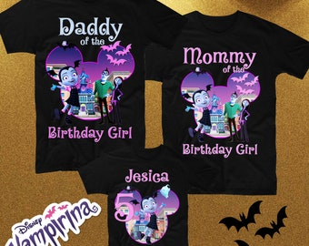 Vampirina Birthday Family Shirts Shirt Custom Party