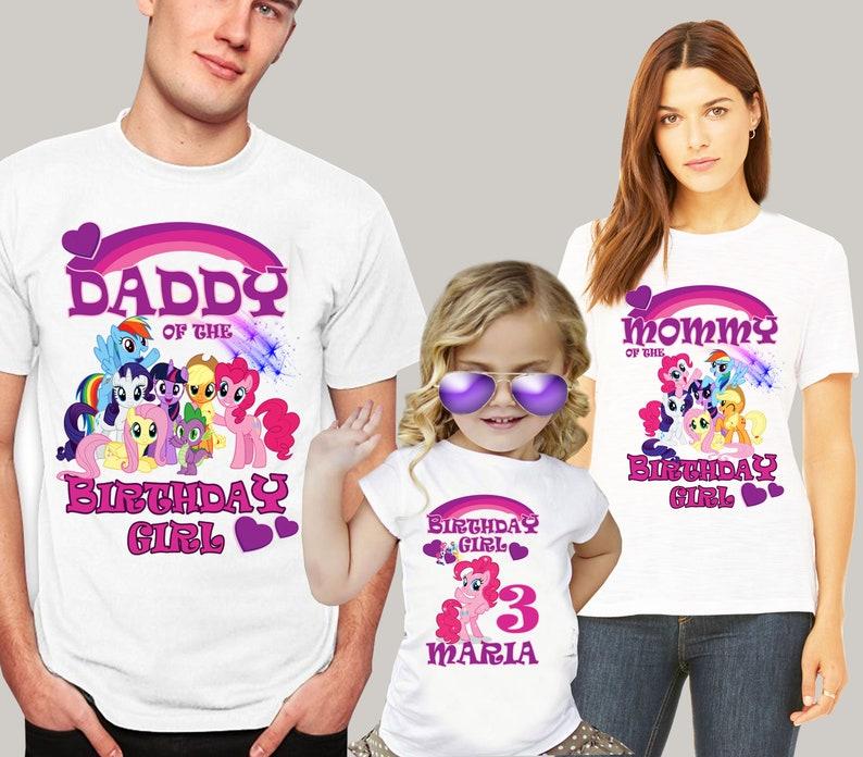 fc594442baf4 My Little Pony Birthday Shirt My Little Pony Shirt My Little | Etsy