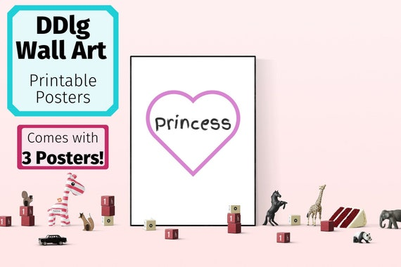 photograph regarding Printable Posters titled Babygirl BDSM Poster DDlg Princess Printable Posters Daddy Dom Youngster Woman Decor