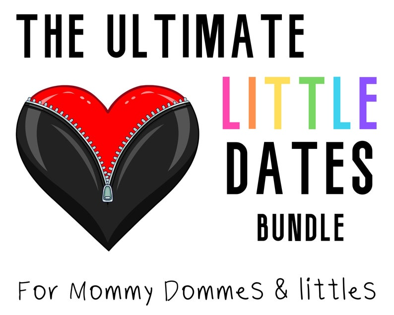 Date Night Ideas: Kinky Littlespace Gift Printable Sex image 0