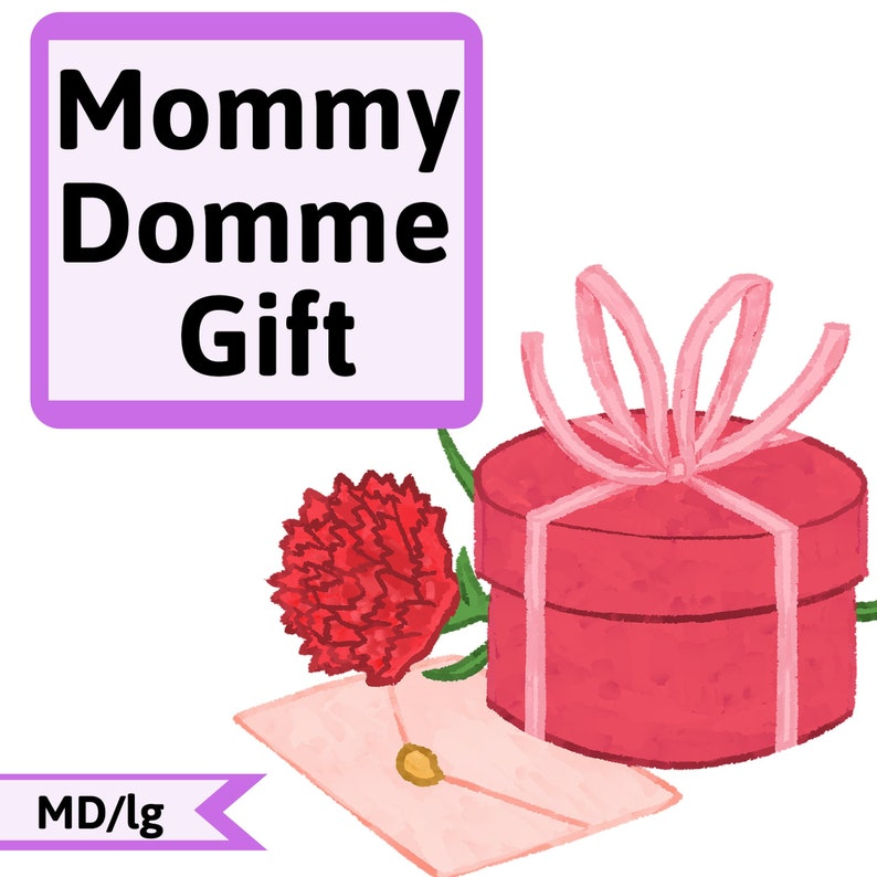 Mommy Domme Gift  MDlg Coloring Pages for Little Space  image 0