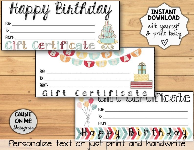 image relating to Printable Birthday Certificates named Printable Birthday Reward Certificates Selection Package deal