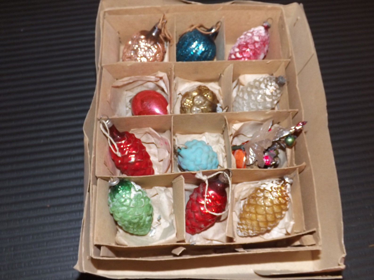 German Hand Blown Glass Ornaments-Delicate Christmas Gems ...