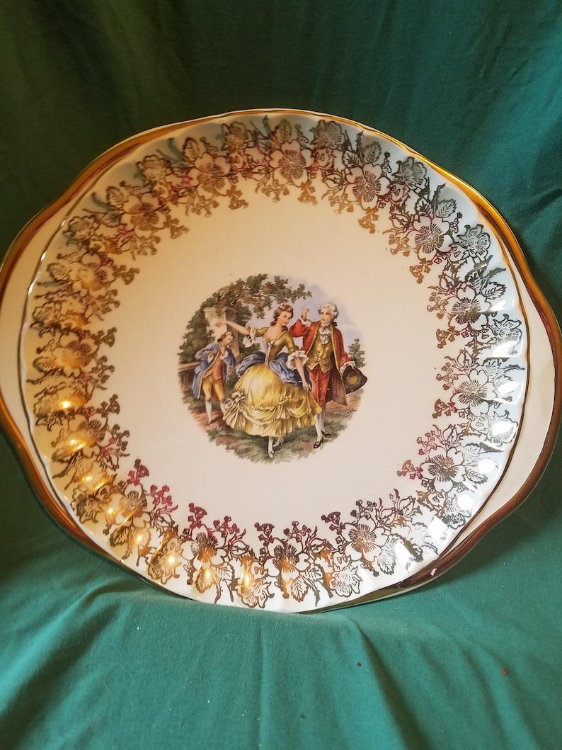 W S George Bolero Serving Plate