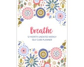 12-Month Undated Self Care Planner (COVER B) PAPERBACK