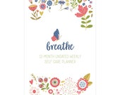 12-Month Undated Self Care Planner (COVER A) SPIRALBOUND