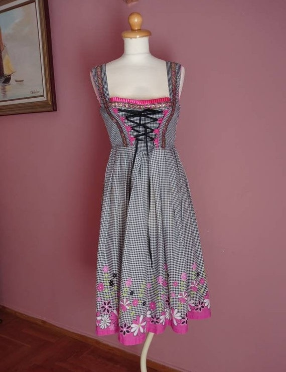 Summer dirndl dress