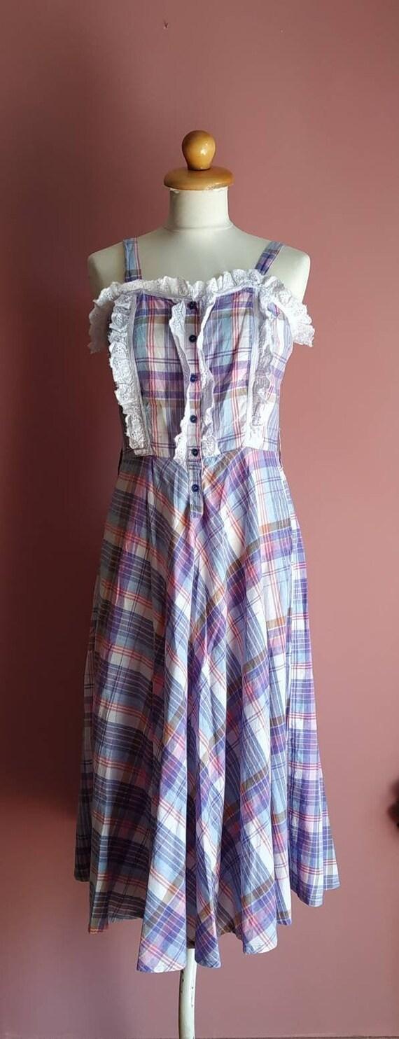 Pastel Check Dress