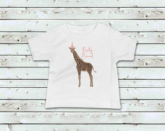Bow tie Giraffe T shirt Gift Available in M//F//Y sizes 7 Colours