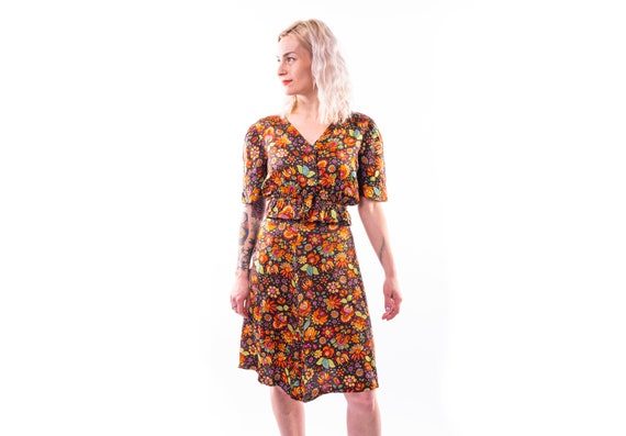 60's psychedelic two piece set
