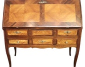 19th Century Italian Louis XV Style Luxury Chest of Drawers with Secretaire