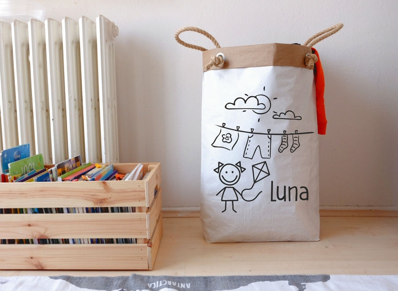 Personalized Laundry Bag