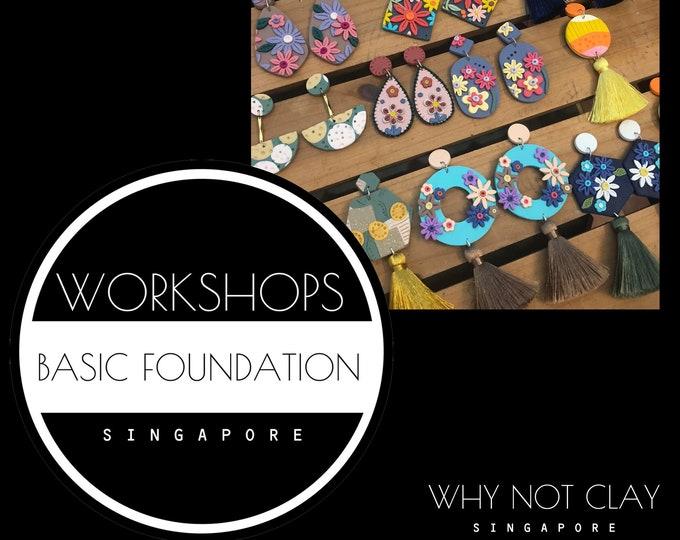 BEGINNER : Basic Foundation Polymer Clay Workshop (NOV/DEC 2021)