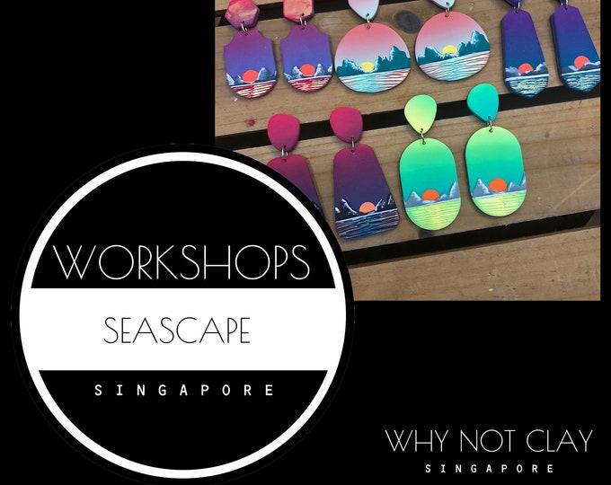ADVANCE : Seascape Polymer Clay Workshop ( NOV 2021)