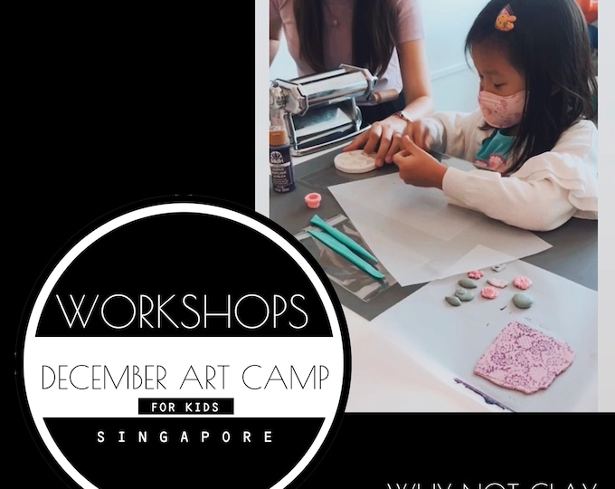 SPECIAL EDITION : December 2021 Art Camp (For kids)