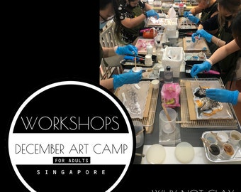 SPECIAL EDITION : December 2021 Art Camp ( For adults)