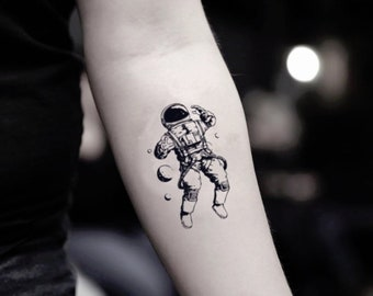 Psychedelic Astronaut Tattoo Tatto Couples Ideas