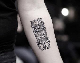 Otter Tattoo Etsy