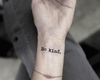 Kinder Tattoo Etsy