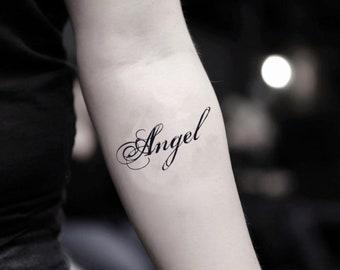 Angel Tattoo Etsy