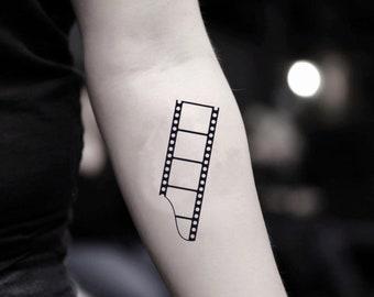 66772350c Film Temporary Fake Tattoo Sticker (Set of 2)